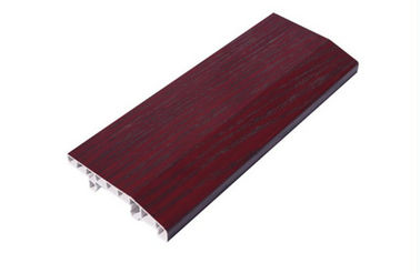ประเทศจีน Individual Offices PVC Skirting Board 8cm Height Wall Bottom Decoration โรงงาน
