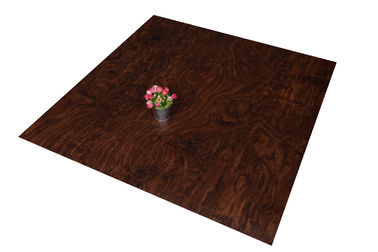 ประเทศจีน Eco - Friendly Commercial Faux Wood Floor Tile Waterproof For Office โรงงาน